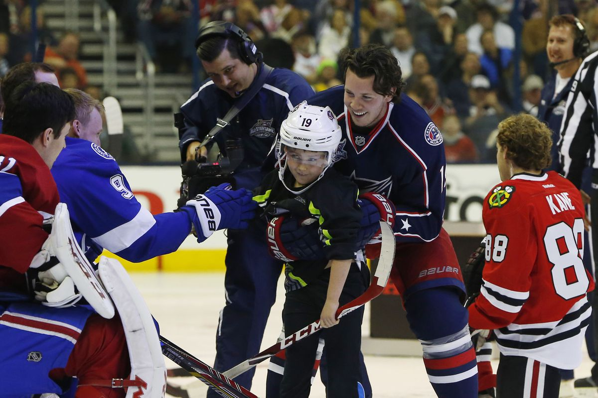 The All Star Game was just one of the storylines running through this season, and Ryan Johansen made the most of it.