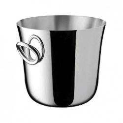 Christofle silver plate Vertigo Vertigo Ice bucket, $730