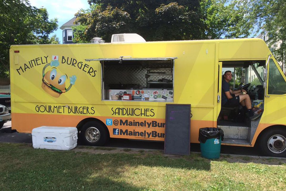 Mainely Burgers food truck