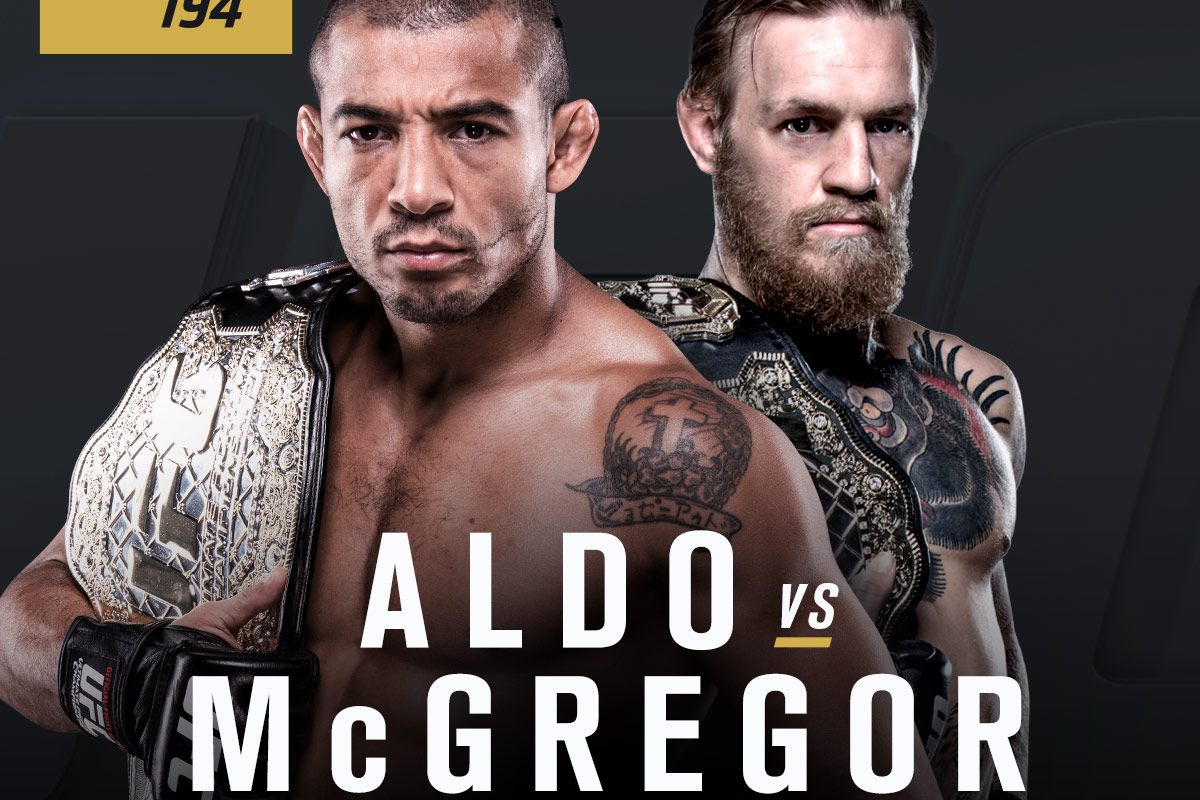 latest ufc 194 fight card and rumors for  u0026 39 aldo vs mcgregor