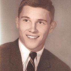 Gary Herbert formal high school senior portrait.