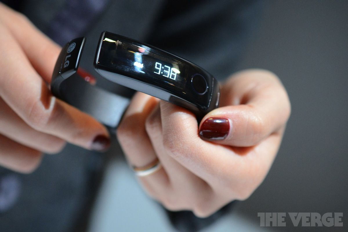 Gallery Photo: LG's Lifeband Touch