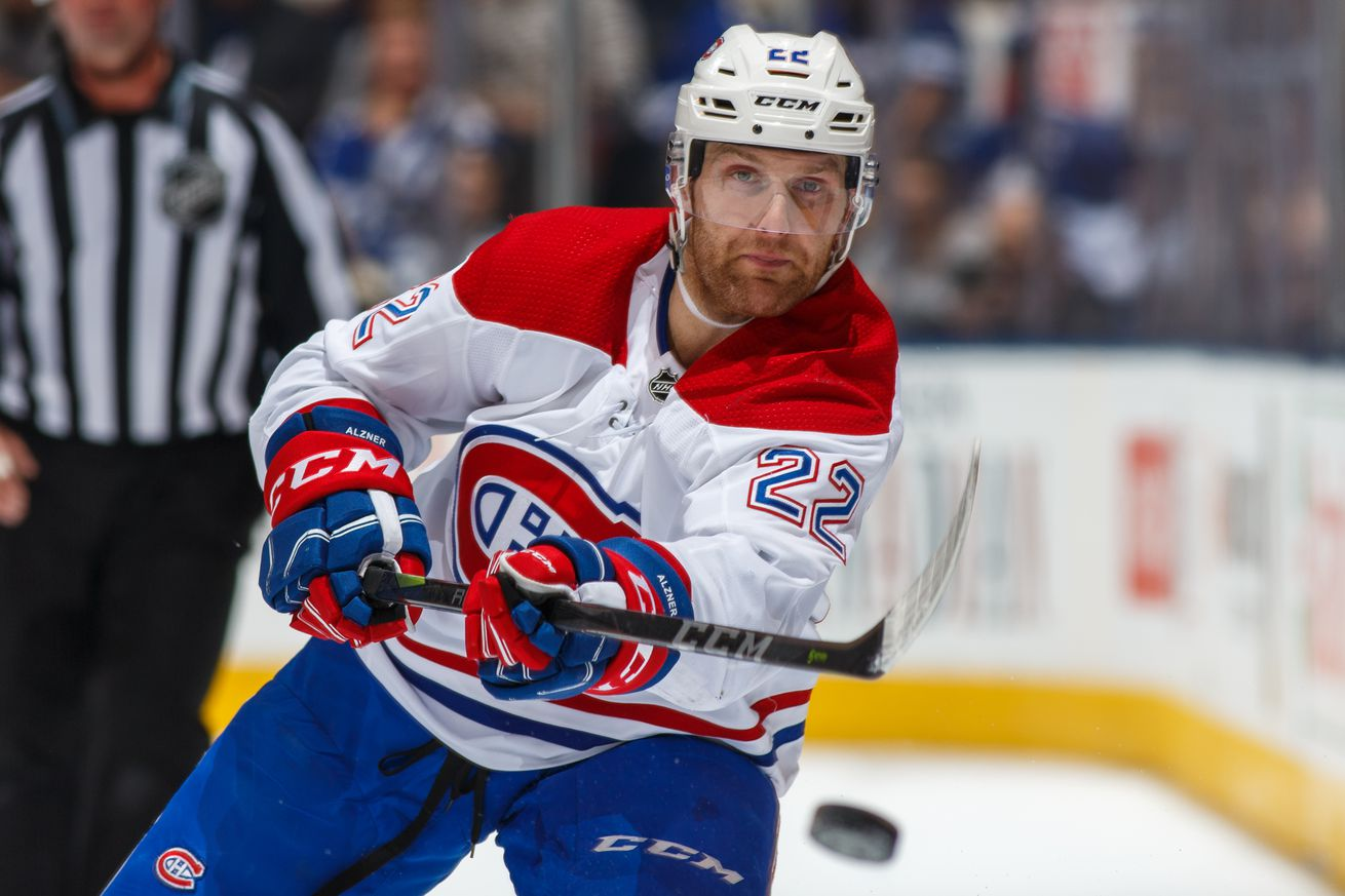 Links: Alzner determined to play in NHL — whether that's in Montreal or not