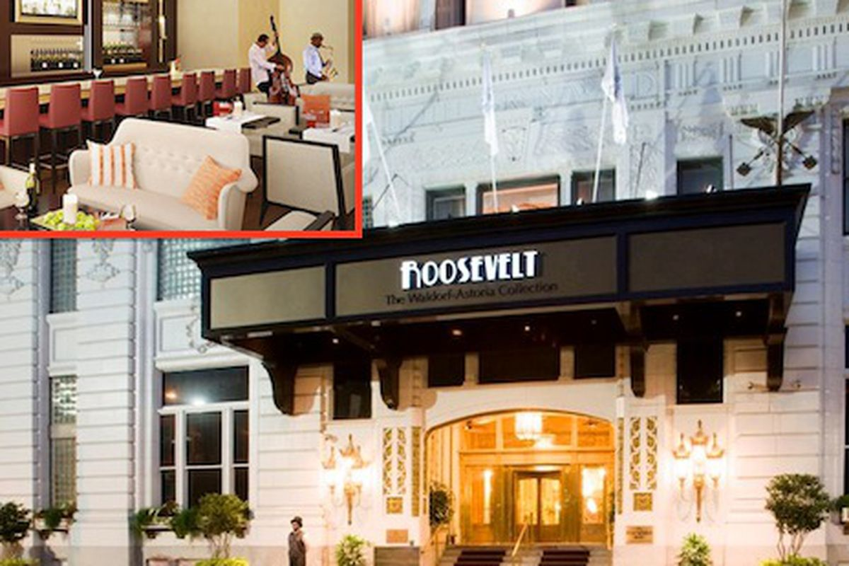 Fountain lounge reopening in the roosevelt this fall for Roosevelt hotel san diego