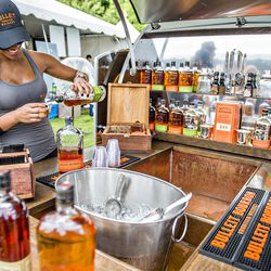It wouldn't be a Southern food festival without a little whiskey.