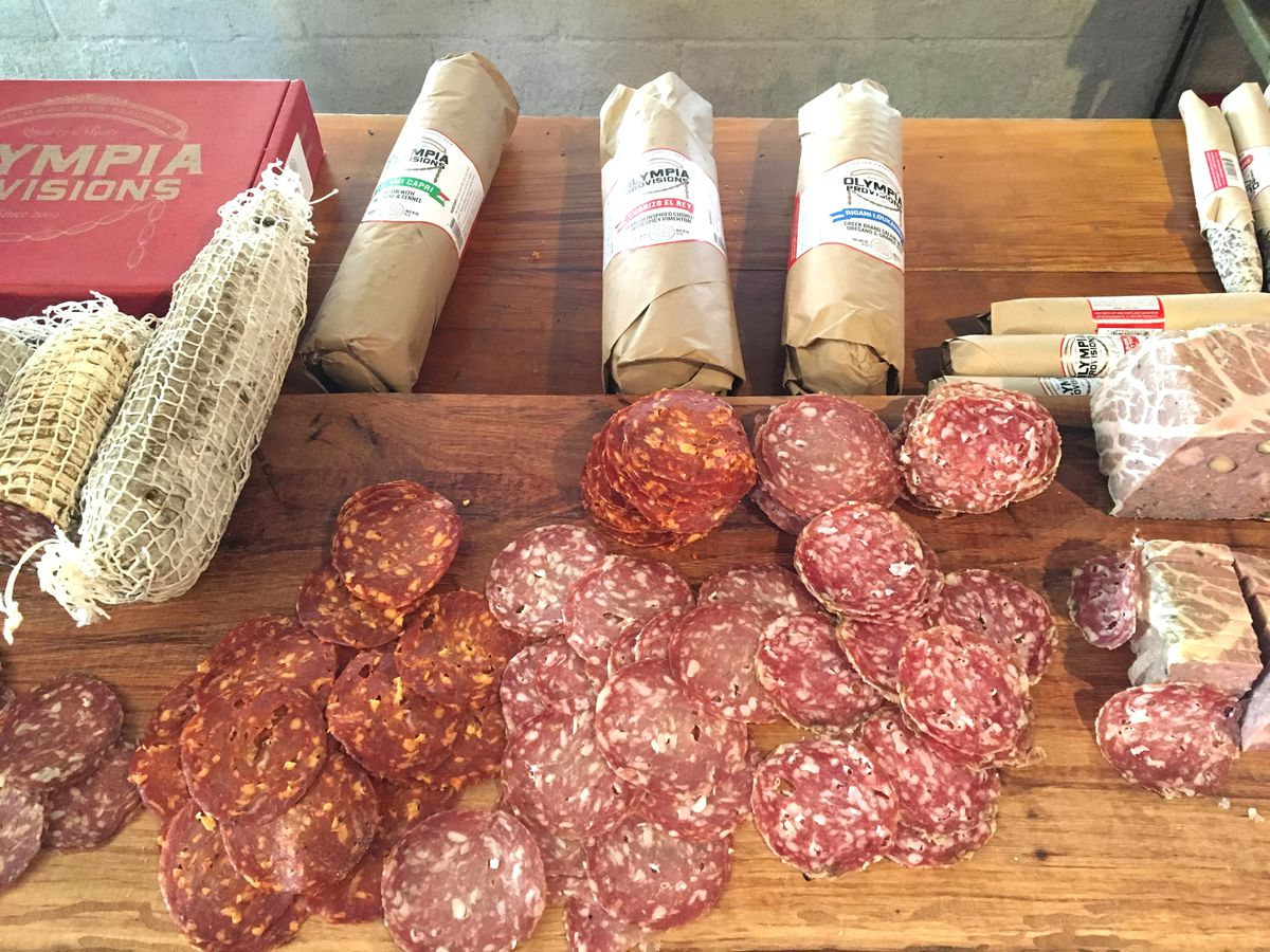 Olympia Provisions' charcuterie