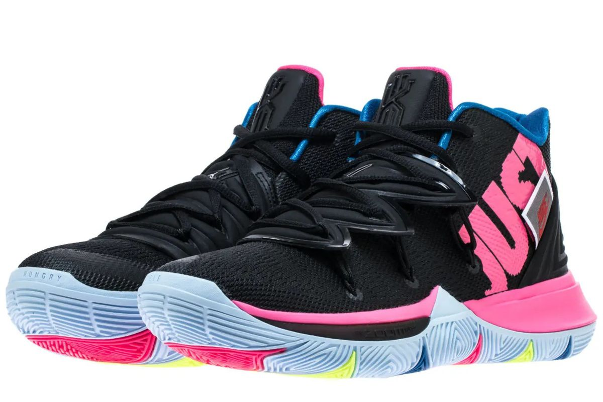 14b2cfbe372a The latest Nike Kyrie 5 colorway is a tribute to  Just Do It ...