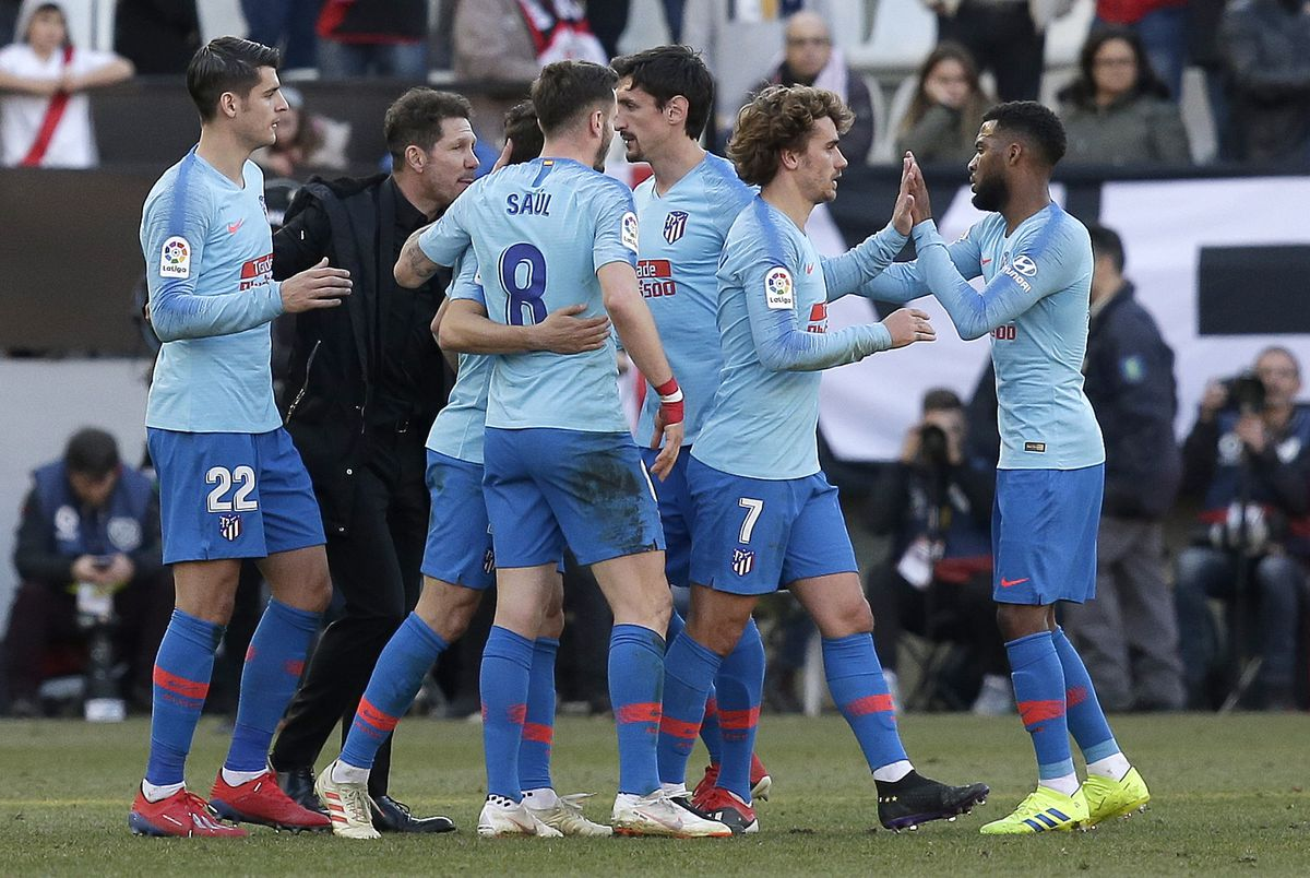 Rayo Vallecano de Madrid v Club Atletico de Madrid - La Liga