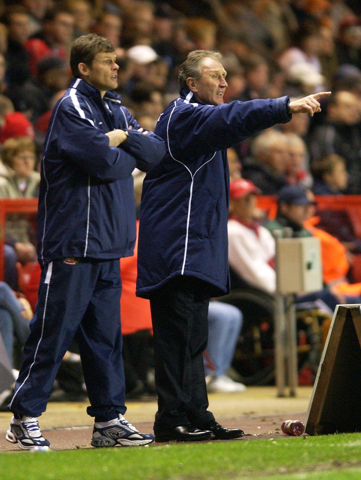 Steve Cotterill and Howard Wilkinson