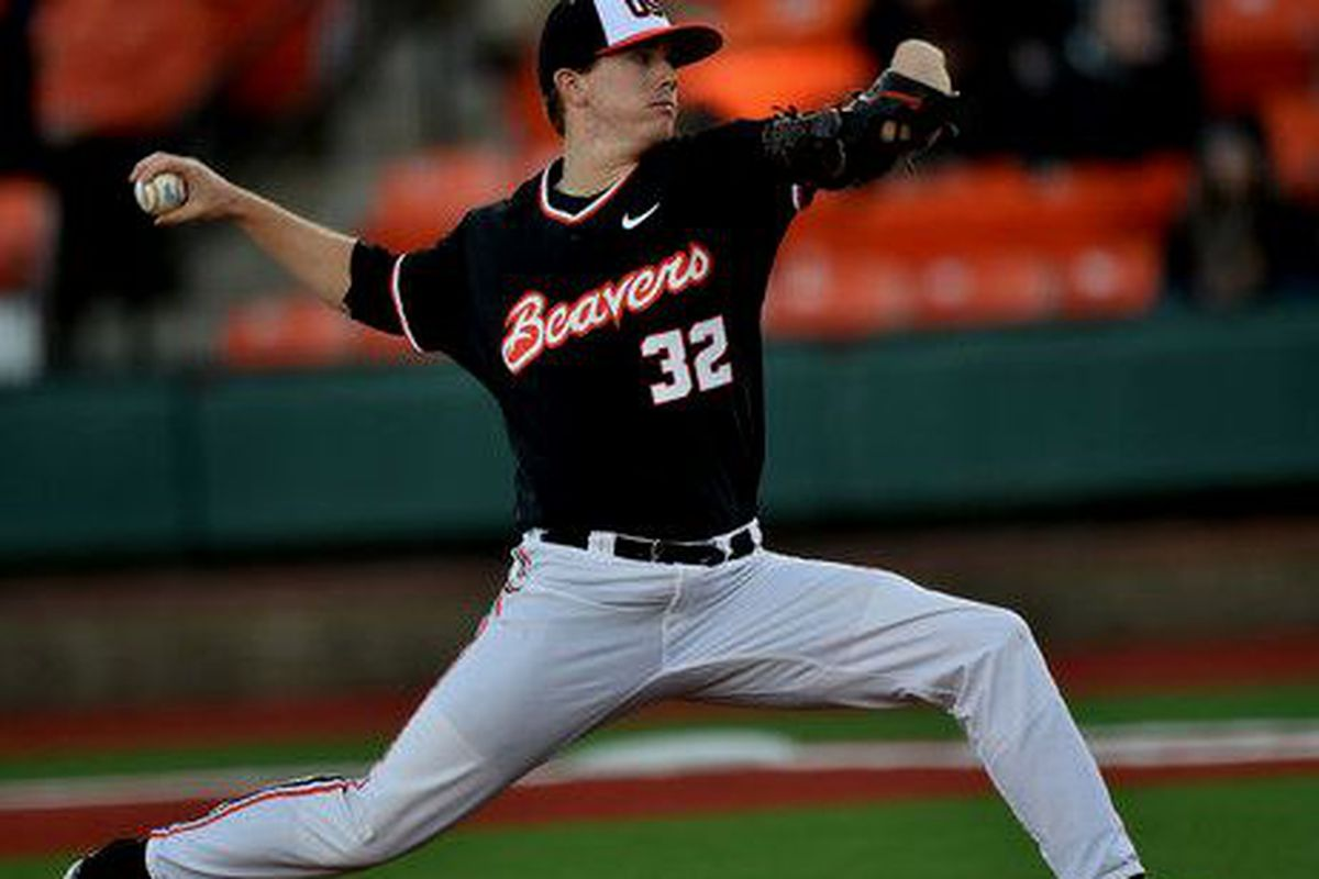 Travis Eckert earned Player of the Week Honors for coming close to a perfect game against USC.