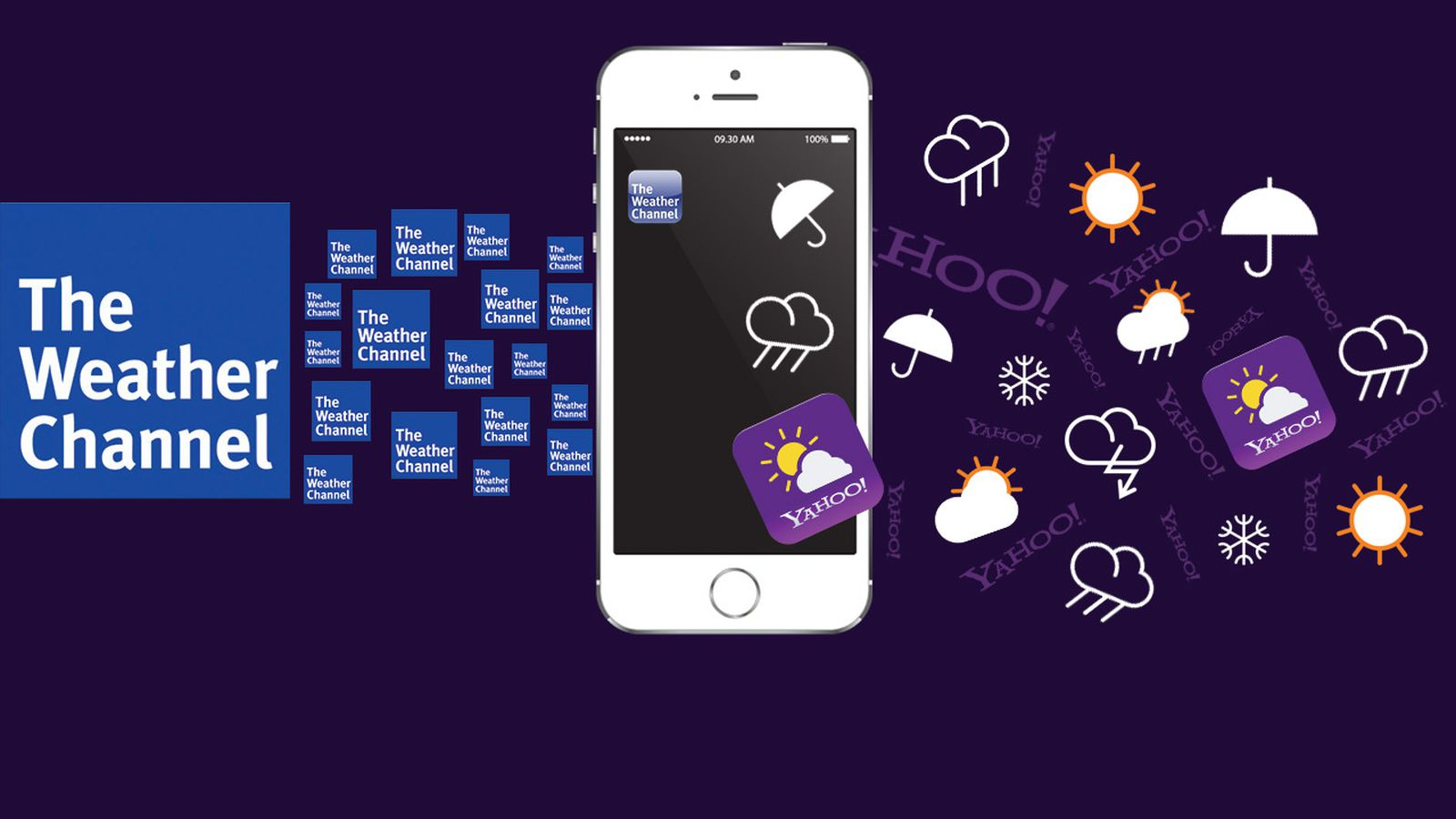 as weather channel blows yahoo off apple u0026 39 s upcoming ios 8