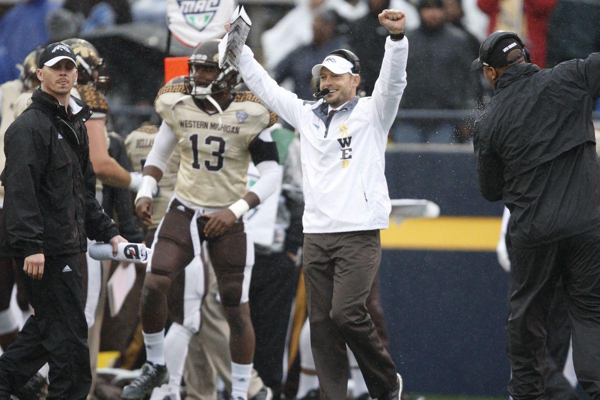 NCAA Football: Western Michigan at Toledo