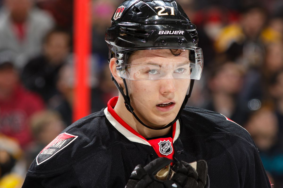 The games are so intense, even Curtis Lazar isn't smiling