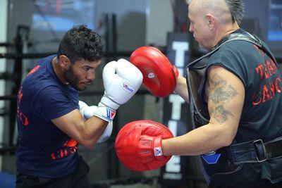 CancioWorkout4Alvarado Hoganphotos6 - Cancio wants Santa Cruz if both win WBA title fights on Nov. 23