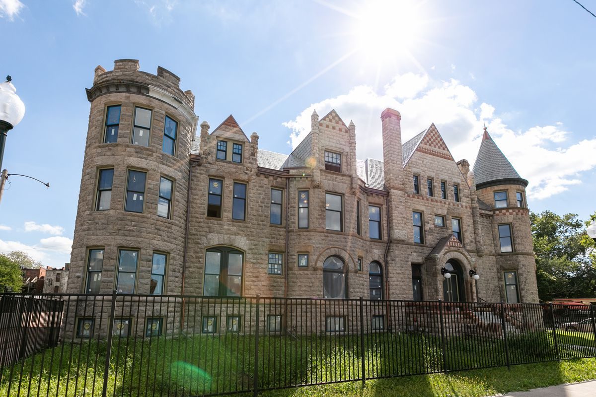 These formerly abandoned Detroit buildings are getting