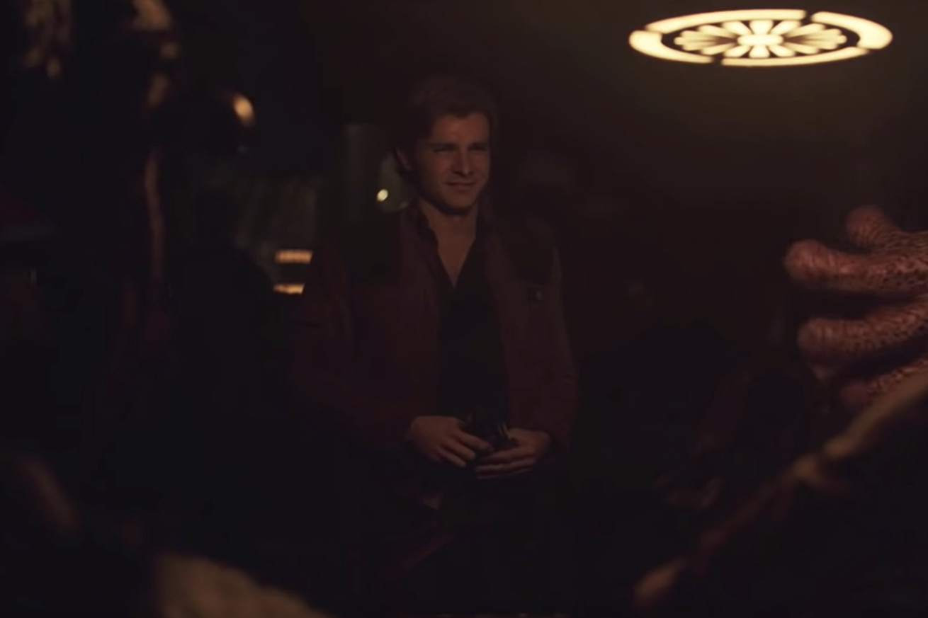 deepfake edits have put harrison ford into solo a star wars story for better or for worse