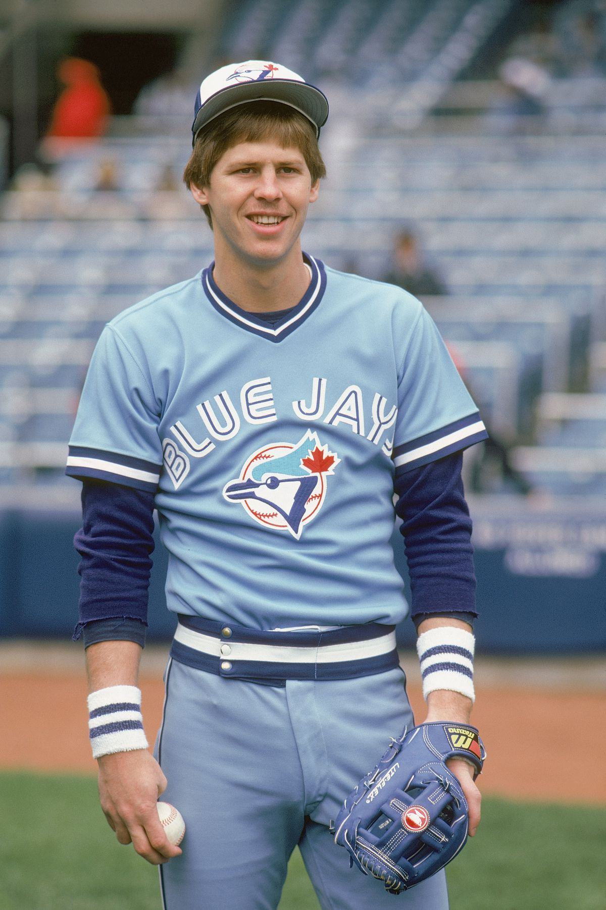 Danny Ainge #2 of the Toronto Blue Jays poses for a portrait in circa 1981.