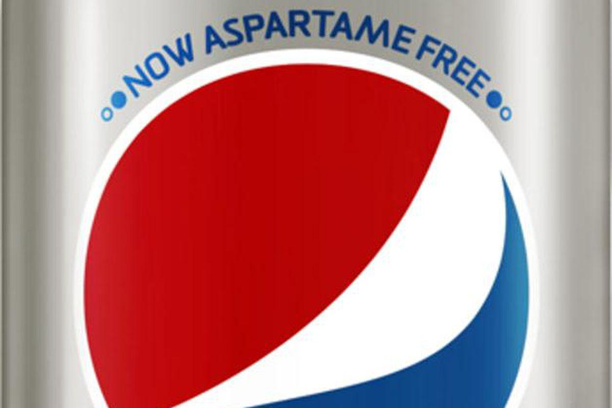 diet pepsi is aspartame free