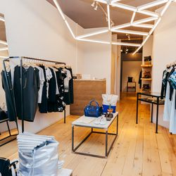 """<b>↑</b> If your wardrobe is in need of a Lower East Side makeover, head to <a href=""""http://www.spiritualameri.ca/""""><b>Spiritual America</b></a> (5 Rivington Street). The boutique is entrenched in that effortless, model-off-duty-with-edge look. You'll fin"""