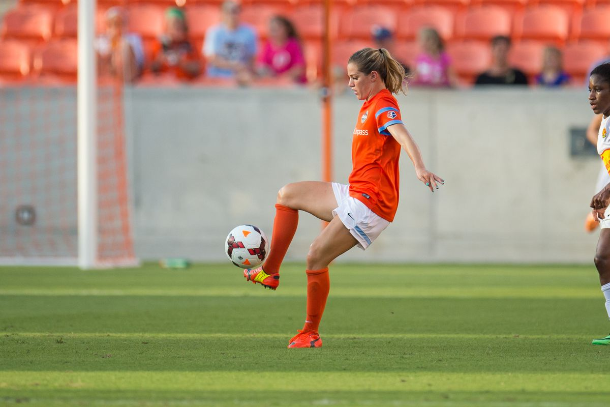 Kealia Ohai and the Houston offense lacked any chances against the Red Stars Saturday afternoon.