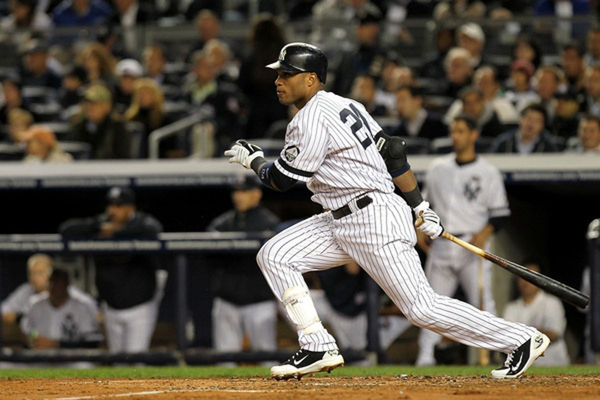Robinson Cano: Heavy in some areas, light in others. (Photo by Nick Laham/Getty Images)