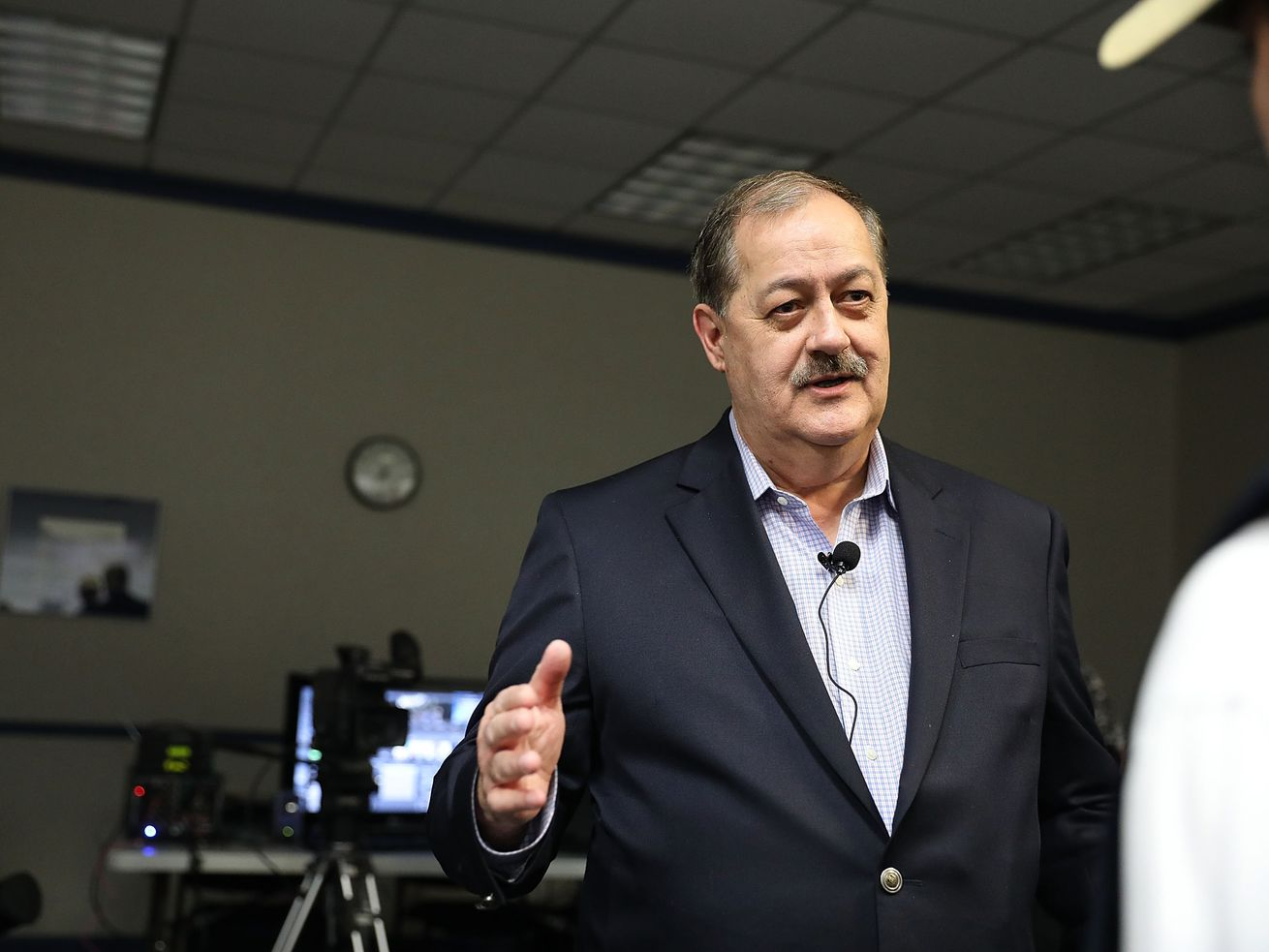 Don Blankenshp, the former coal boss, threw a wrench in the 2018 West Virginia Senate race.