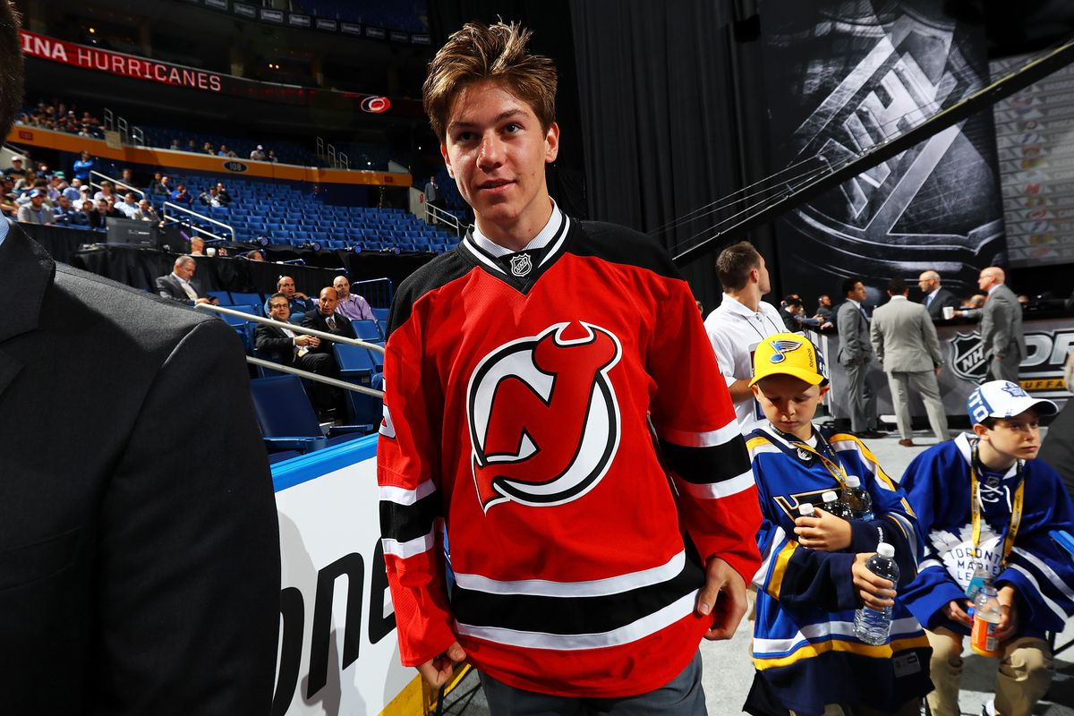 Nathan Bastian was in Buffalo and now has a new New Jersey Devils jersey to show for his efforts. Welcome to NJ.