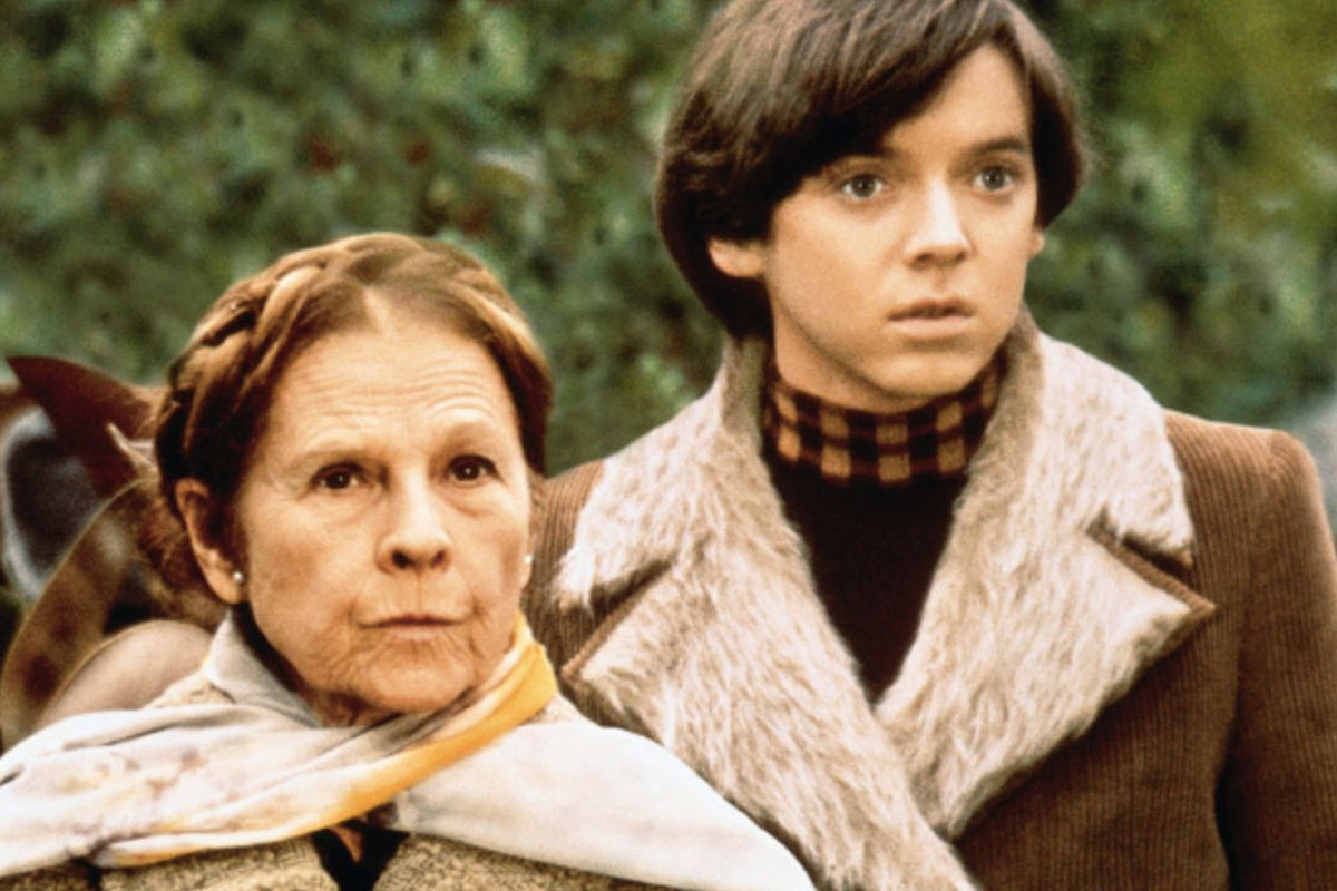 A scene from the movie 'Harold and Maude.'