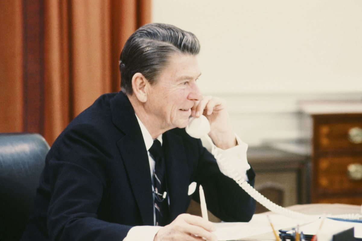 An executive order first signed by President Ronald Reagan has become a major source of NSA spying authority.