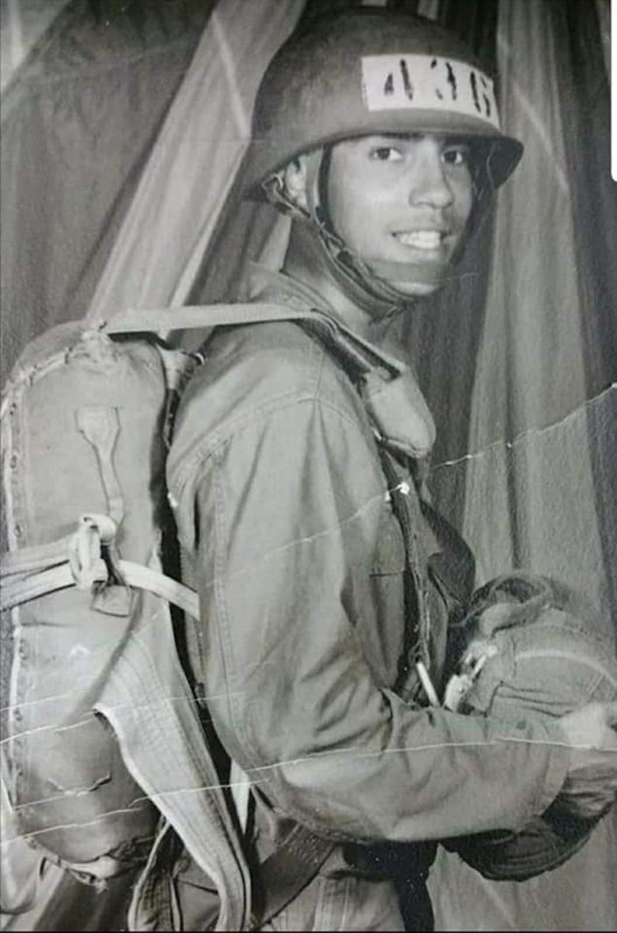 John Garrido Sr. was a member of the 101st Airborne Division.
