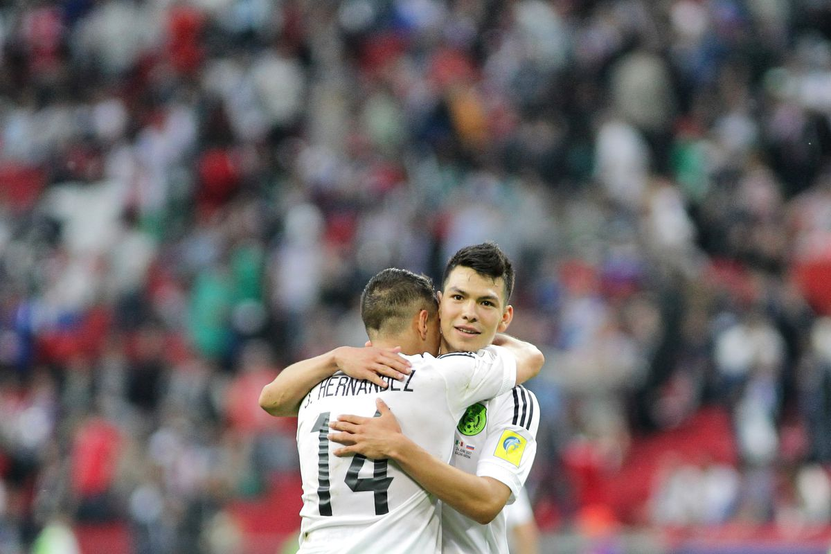 Mexico vs Russia - FIFA Confederations Cup 2017