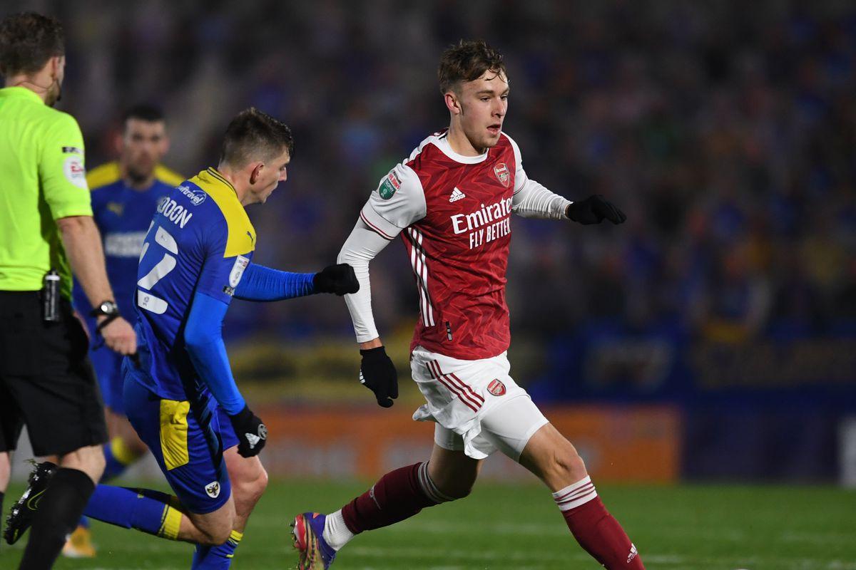 AFC Wimbledon v Arsenal U21 - EFL Trophy