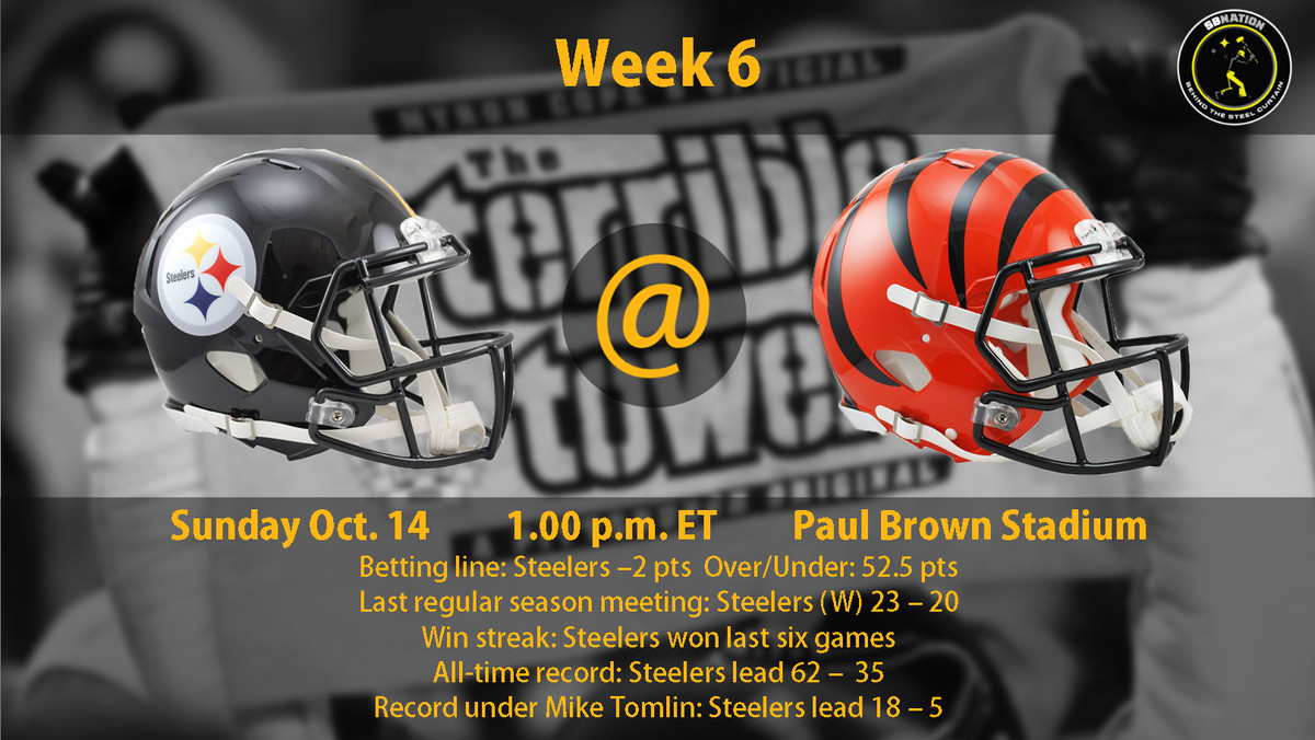 Nfl Week 6 Betting Preview Steelers 2 Point Underdogs