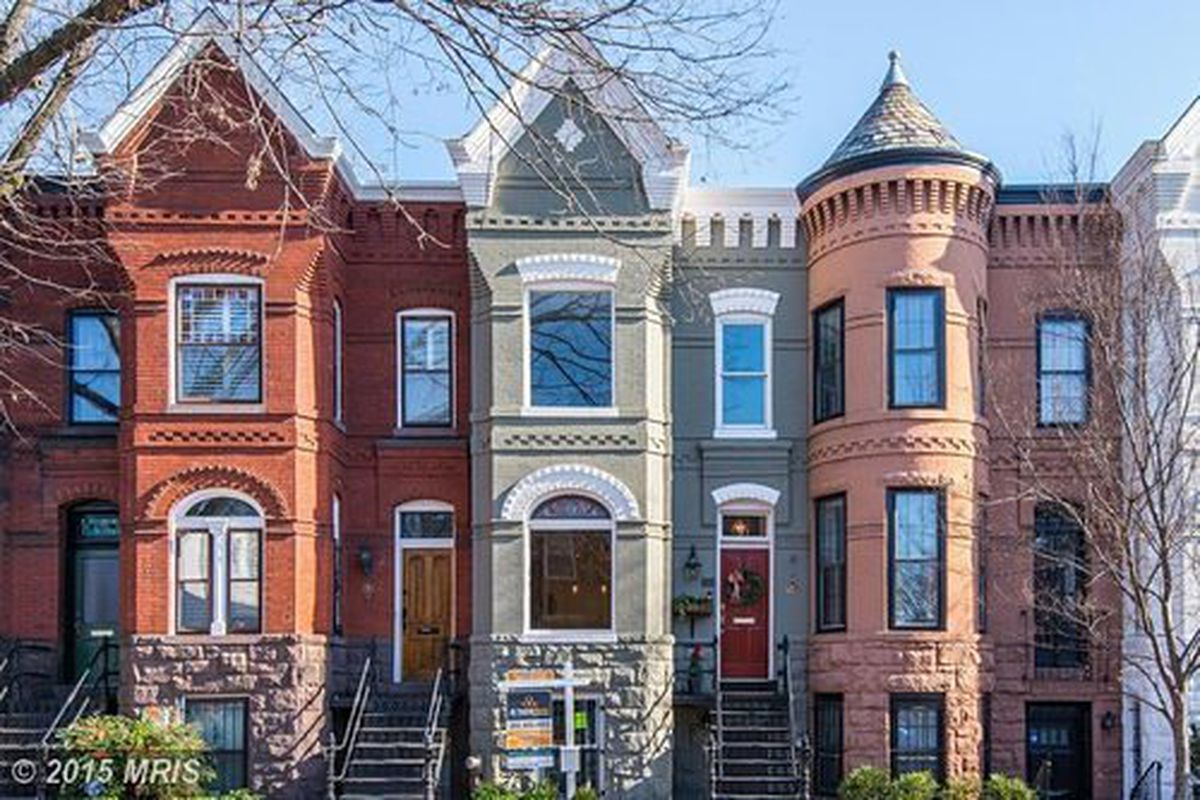 This Capitol Hill Rowhouse Was Built By One Of D C S Most Prolific Architects