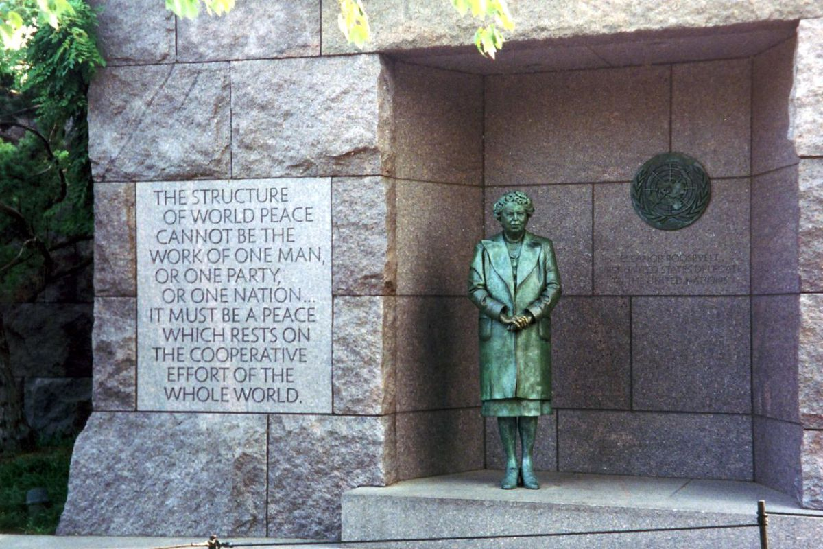 Eleanor Roosevelt Statue