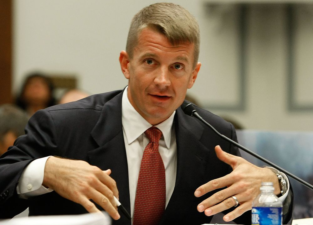 Erik Prince testifies to Congress back in 2007