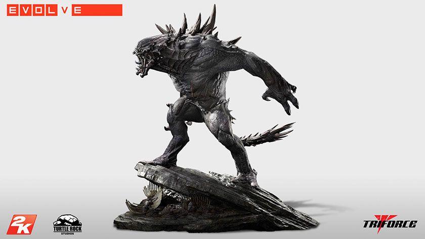 Goliath statue