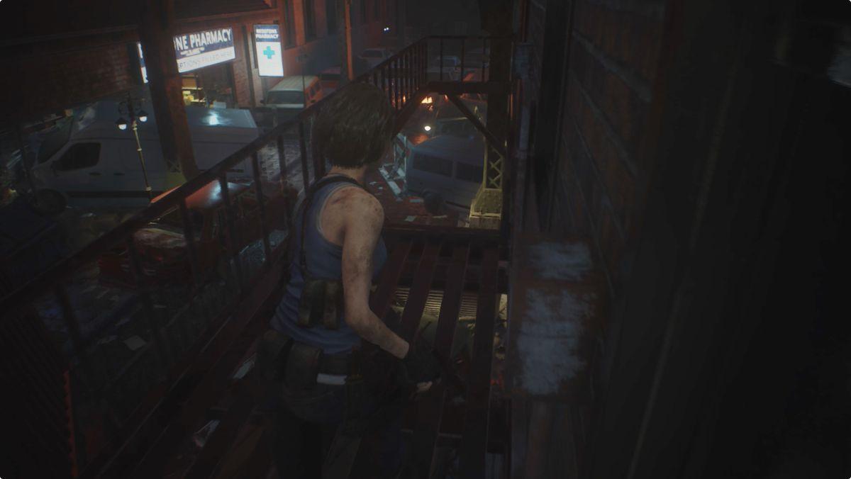 Resident Evil 3 Downtown streets Pharmacy safe code