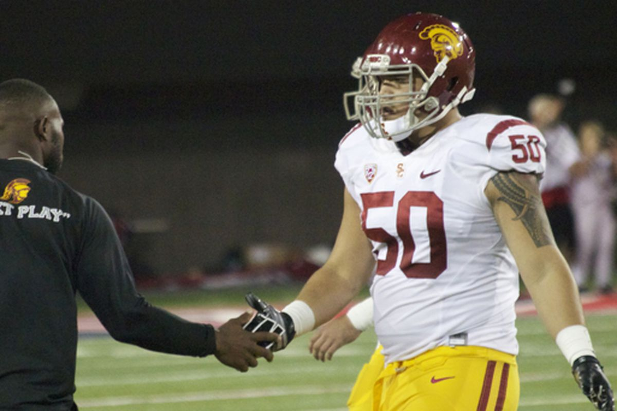 Toa Lobendahn is taking over at left tackle.