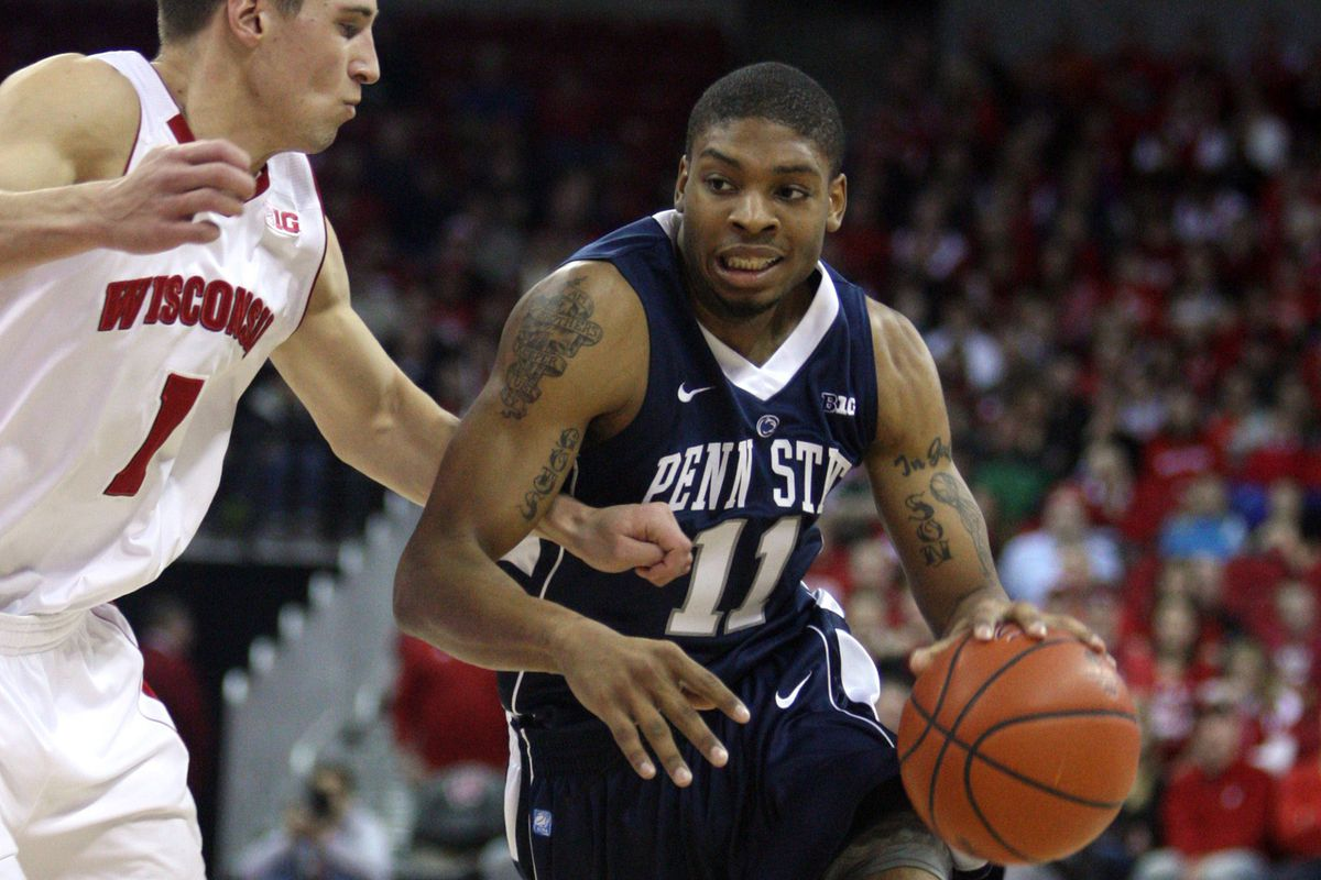 Jermaine Marshall and Penn State host Indiana at 7 p.m. tonight.