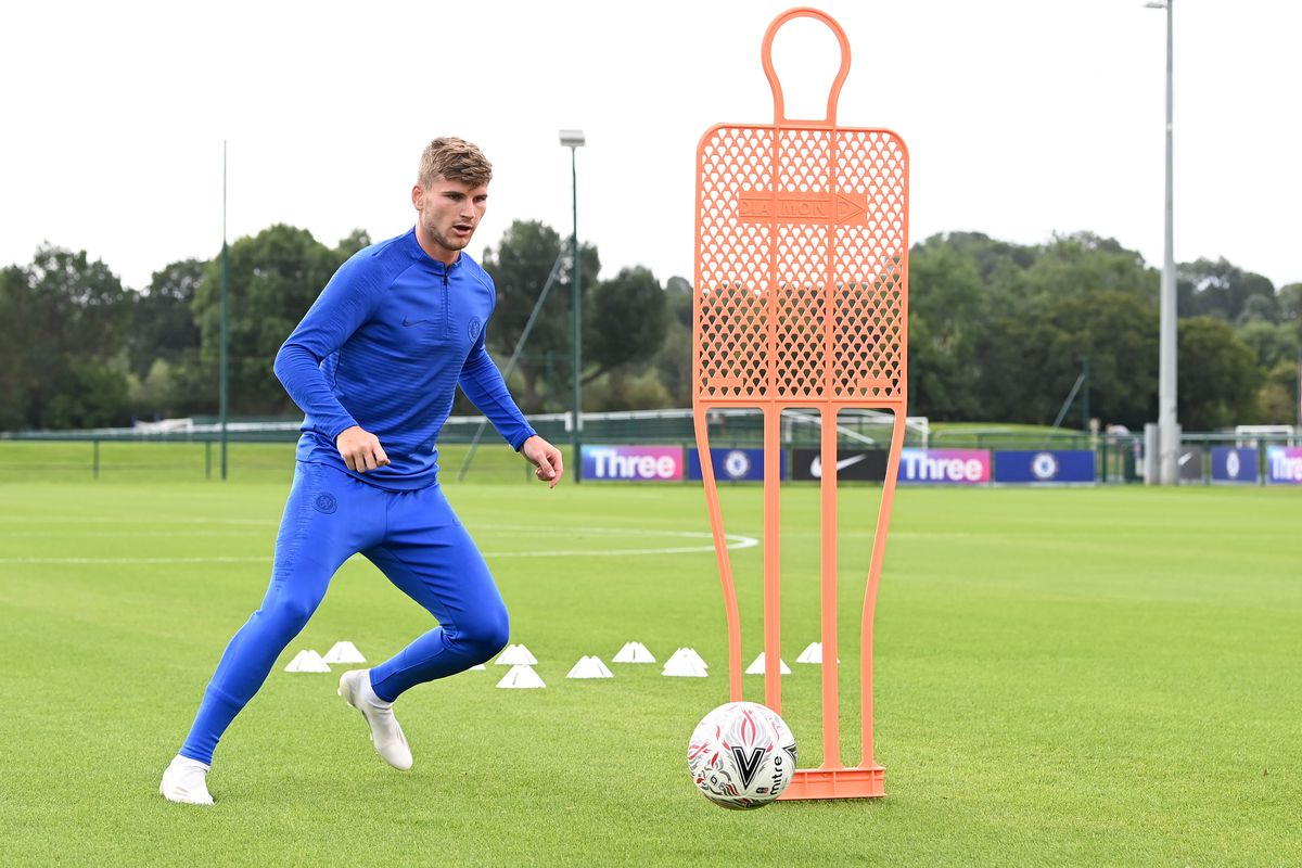 Timo Werner Individual Training Session at Chelsea
