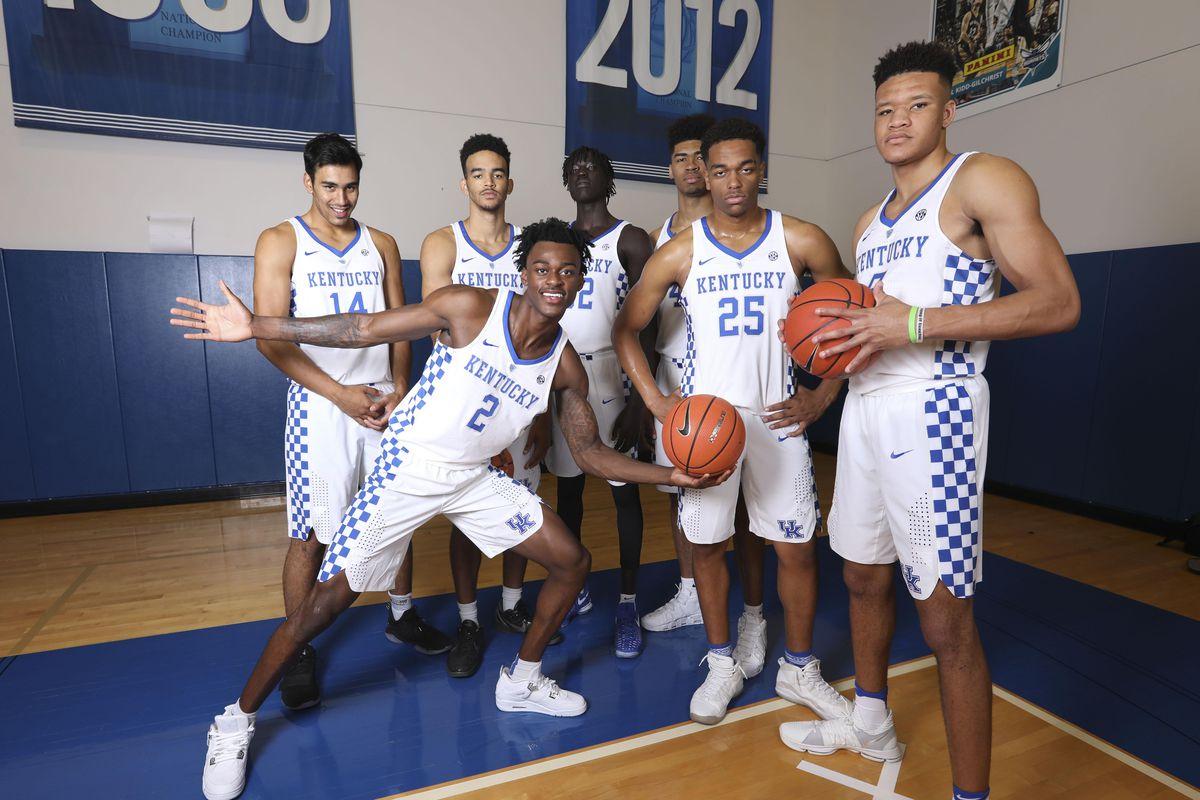Kentucky Basketball 2017 18 Season Preview For The Wildcats: Kentucky Basketball Preview: Wildcats Still Top An