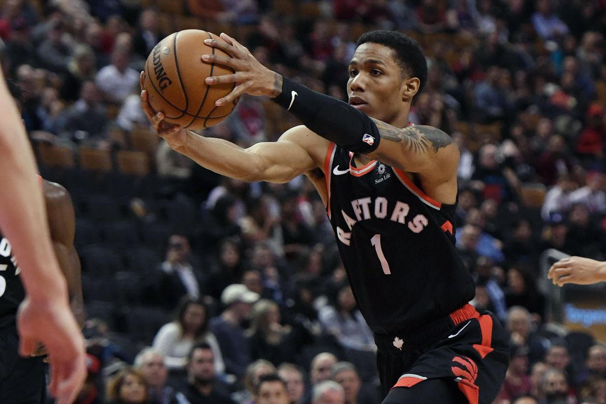 Report: Toronto Raptors Patrick McCaw to miss three weeks with sprained right thumb