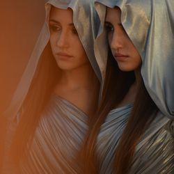 "Angela Fontana and Marianna Fontana in ""Indivisibile."""