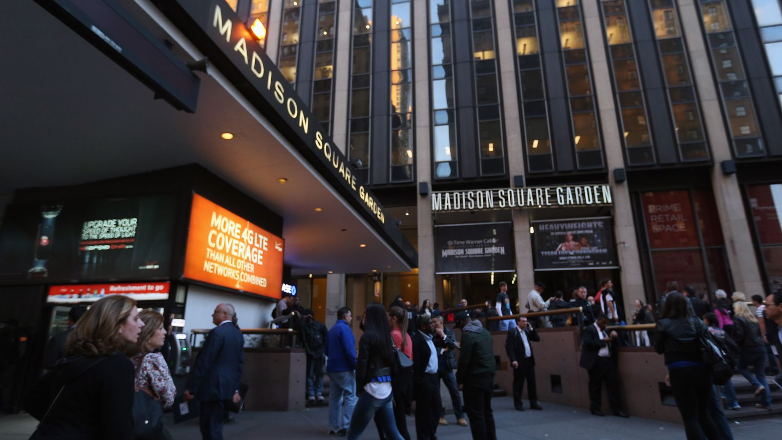 What to eat at madison square garden 2016 edition eater ny for Best restaurants near madison square garden
