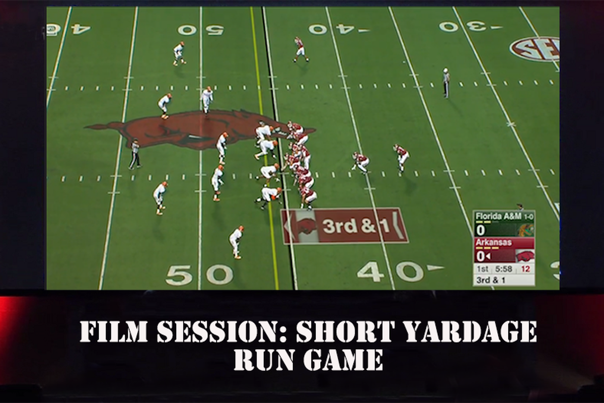 Film Room: Short Yardage Run Game So far in 2017 success in the crucial short yardage run game has been limited. What exactly is the problem in an area that ...