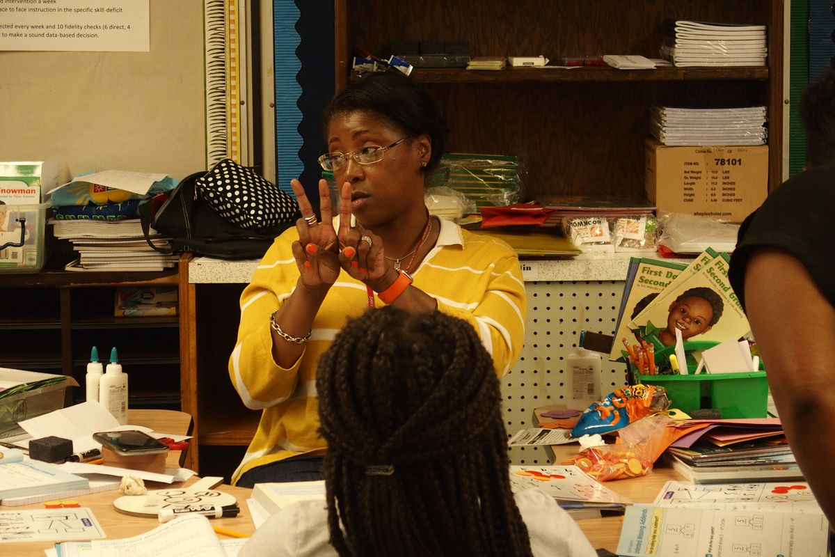 Summer learning academy at Hawkins Mill Elementary in Memphis.