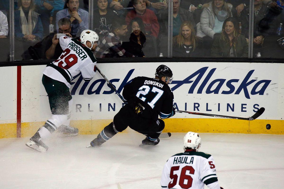 NHL: Minnesota Wild at San Jose Sharks
