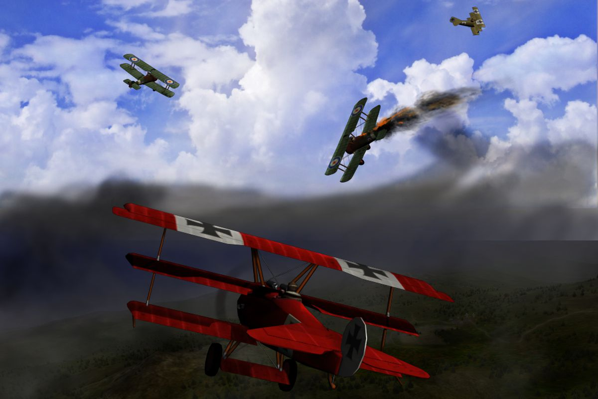 Red Baron Flying Game