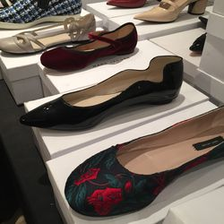 A selection of flats (the black ones are $95)
